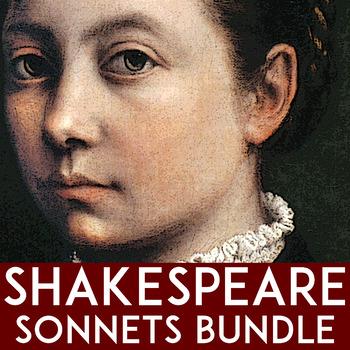 Shakespeare Sonnets Bundle: Sonnet 18 | Sonnet 138 | Sonnet 130 | Sonnet 73