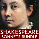 Shakespeare Sonnets | Poetry Units | Shakespeare Units with Poetry Activities