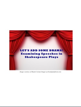 Shakespeare Speech Project (Julius Caesar, Macbeth, Hamlet, Romeo and Juliet)