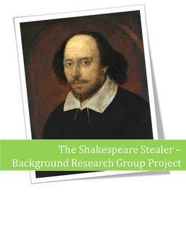 Shakespeare Stealer Background Research - PBL