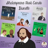 Shakespeare Task Cards Bundle (A Growing Bundle)
