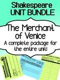 Shakespeare - The Merchant of Venice - UNIT BUNDLE - Compl