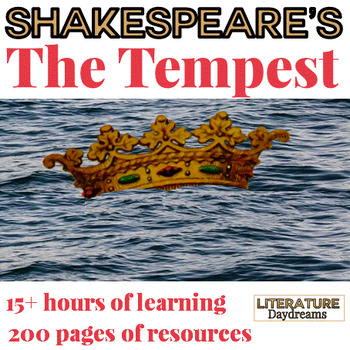 Shakespeare's The Tempest Analysis Bundle