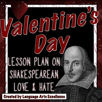 Shakespeare Valentine's Day Lesson Plan