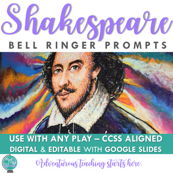 Shakespeare Common Core Bell Ringers: Your First Five Minutes DONE!