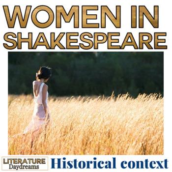 Shakespeare - Women in Elizabethan England