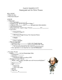 Shakespeare and the Globe Theater Handout