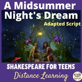 Shakespeare for Teens - A Midsummer Night's Dream Adapted Script