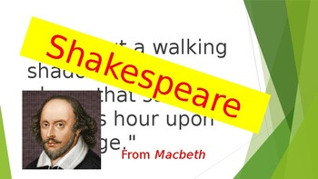 Shakespeare or Rap - PowerPoint Quiz