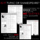 Shakespeare or Tupac Interactive Bulletin Board and Anticipatory Activity