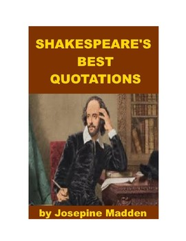 Shakespeare's Best Quotations