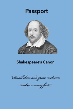Shakespeare's Canon Passport