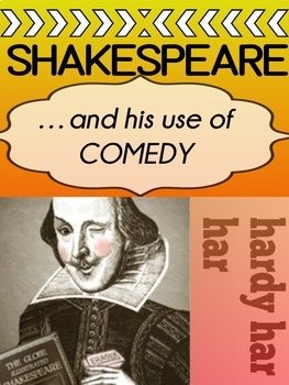 Shakespeare's Comedy / Stock Characters