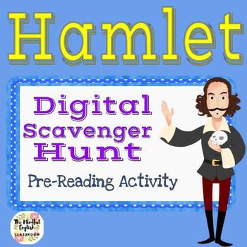 Shakespeare's Hamlet Scavenger Hunt Activity