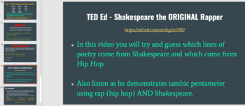Shakespeare's Life, Times, & Language - Your Shakespeare Unit Opener