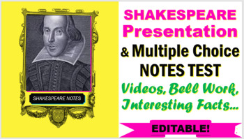 William Shakespeare A Life Of Drama Worksheet Answers ...