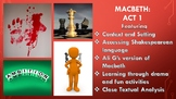 Shakespeare's Macbeth Act One