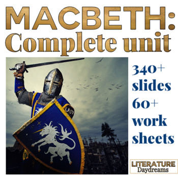 Macbeth Unit Complete Analysis Bundle