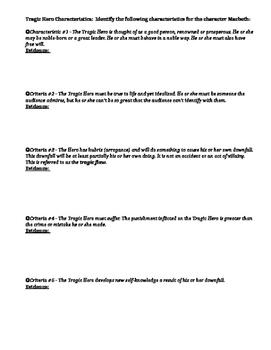 Shakespeare's Macbeth Review / Test Prep