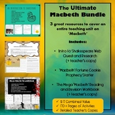 Shakespeare's Macbeth Worksheets and Revision BUNDLE