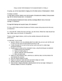 Shakespeare's OTHELLO Final Performance- Task Sheet and On
