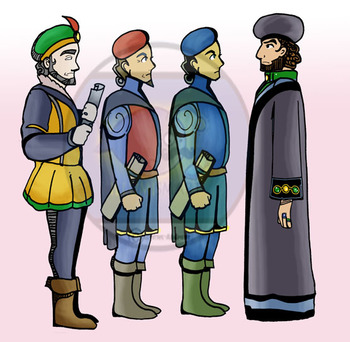 "Shakespeare's ""Othello"" Clip-Art  - 24 pc BW/Color!"