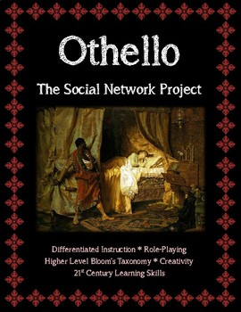 Shakespeare's Othello The Social Network Character Analysis Assignment