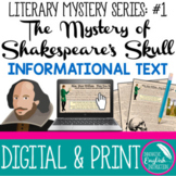 Shakespeare's Skull and Resurrectionists Informational Tex
