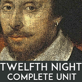 Twelfth Night by Shakespeare Unit: Quizzes, Activities, Questions, Lesson Plans