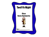 Shakespeare's Twelfth Night Scene Cloze