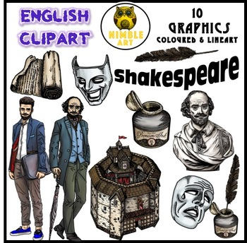 Shakespeare Clipart (English)