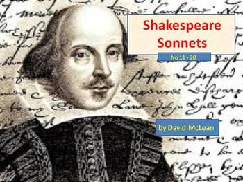 Shakespeare - sonnets 11 to 20