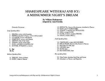 Shakespeare with Raj and Ky: A Midsummer Night's Dream