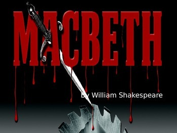 Shakespeare/Macbeth Intro