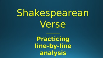 Shakespearean Hokey Pokey