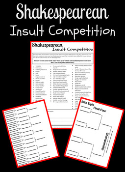 Shakespearean Insult Competition