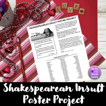 Shakespearean Insult Poster Project