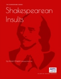 Shakespearean Insults, fun English and drama lessons! Shakespeare, stimulus