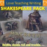 Shakespearean Playscript Writing Pack