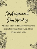 Shakespearean Pun Activity