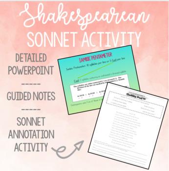 Shakespearean Sonnet Activity