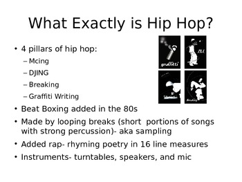 Shakespearean Sonnets and Hip Hop