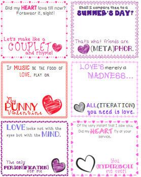 Shakespeare Valentines