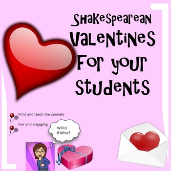 Shakespearean Valentines for Your High School English Class