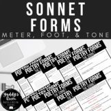 Shakespearean and Petrarchan Sonnets: Meter, Scansion, and Tone