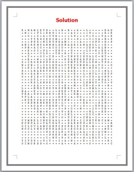 Shakespeare's 100 Characters Word Search Puzzle
