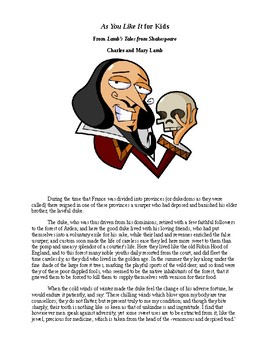 Shakespeare's As You Like It for Kids
