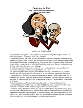 Shakespeare's Cymbeline for Kids