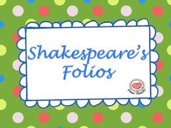 Shakespeare's Folio