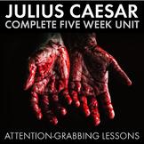 Julius Caesar Unit Plan, Shakespeare, FIVE WEEKS of High-I